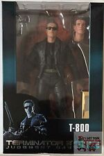 "3D T-800 JUDGEMENT DAY Neca TERMINATOR 2 7"" INCH 2017 Action FIGURE"
