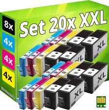 Cartuchos 20x para HP 920xl con chip OfficeJet 6000 6500-a 7000 7500-a e710a e710n