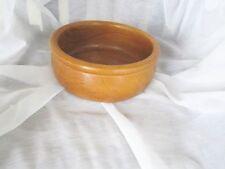 "Dolphin Genuine Teakwood Salad Bowl Serving Wooden 10"" Mid-Century Modern"