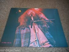 "JETHRO TULL - ORIGINAL 1973 RISING SIGNS LARGE POSTER CARD - 8 1/2"" X 11"""