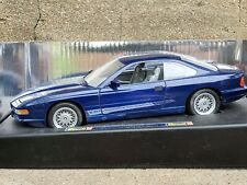 Revell 1990 BMW 850 Ci Coupe 1:18 Scale Diecast Dealer Model Car Blue 8827