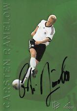 DFB Karte 2002 - Carsten Ramelow - original signiert