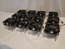 *Lot of 12* OEM Dell Optiplex MT CPU Heatsink w/ 5- Pin Fan 89R8J Full Height