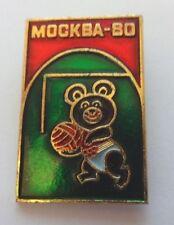 Jeux Olympiques de Moscou 1980 russe de football Insigne