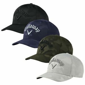 2021 Callaway Golf Camo FLEXFIT Snapback Hat Cap Adjustable Moisture Wicking