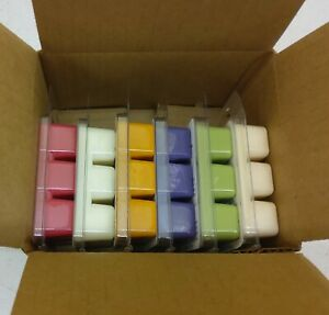 Wax melt gift set 6 Fall scents 100% Soy wax max scented Free Shipping