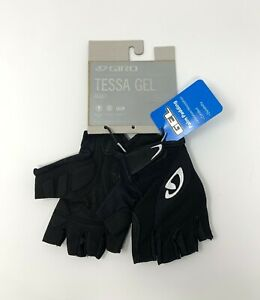Giro Tessa Gel Women's Cycling Gloves Size Medium Black New