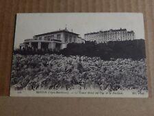 Postcard WW1 Menton Hotel Du Cap Field Censor Stamp posted