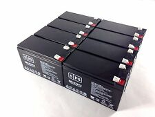 SPS brand 12V 7Ah battery with T2 terminals SG1270T2 - 8 pack