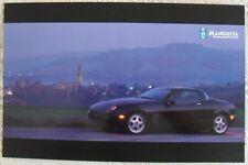DE TOMASO Mangusta Large Format (A3) 2000 Multi Langauge Sales Brochure Prospekt