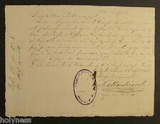 ANTIQUE DOCUMENT / CUERPO DE POLICIA MUNICIPAL / ARECIBO PUERTO RICO 1901