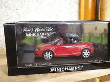 MINICHAMPS AUDI TT roadster edition limité à 1200 fabriquées, neuve en boite