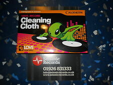 CALOTHERM VINYL RECORD CLEANING CLOTH IMPREGNATED & ANTISTATIC 1ST CLASS POST