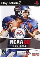 NCAA Football 08 for PlayStation 2 Video Game System