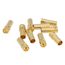 40PCS 20Pairs 3.5mm Gold Plated Male&Female Bullet Banana Plug Connector for ESC