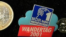 Media Radio TV pin badge ndr radio baja sajonia excursión 2001
