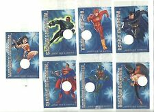 2004 JUSTICE LEAGUE trading card set of 7 from POST Cereal