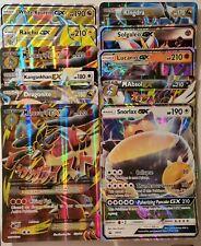 Pokemon Jumbo Oversized Promo Lot (10) Raichu GX, Mega Lucario EX, Snorlax GX +
