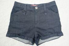 TIGERLILY indigo dark blue denim high waisted shorts size 8 EUC