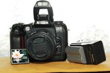 Nikon D100 6.1MP Digital Camera Body +Nikon AF 35-80 lens+2GB CF card+Free Ship.