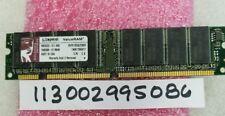 256MB  SDRAM SDR SD PC133 133MHZ 133 168PIN NON-ECC PC DESKTOP  16x8 MEMORY RAM