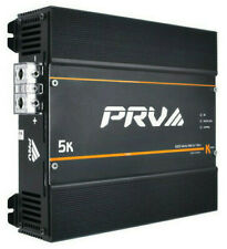 PRV Audio 5K 1Ohm 1-Channel FullRange Car Audio Amplifier Monoblock K Series AMP