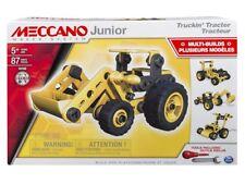 Meccano Junior Trattore set 4 Modelli Costruzioni in Metallo