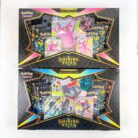 2 Box Lot Pokemon TCG Shining Fates Premium Collection - Crobat V + Dragapult V
