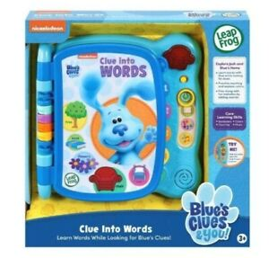 Leapfrog Blue's Clues & You! Clue Into Words Electronic Book [Blue]