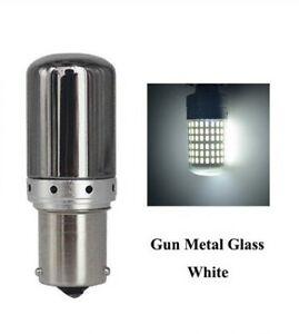 1x BA15S Ampoule LED P21W 144 SMD Chrome Blanc Veilleuses Feux de jour Voiture
