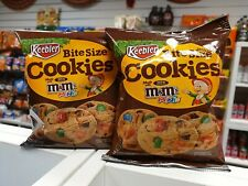 M&Ms Bitesize Cookies By Keebler 1.6oz (45g)  x 4 packs