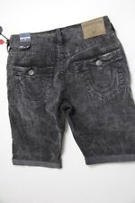 True Religion Men Black   Shorts 32