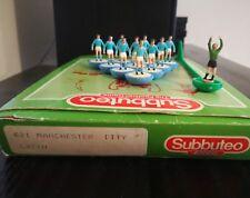 Subbuteo L/W  Manchester City Lazio 1986 Rif. 621-fate voi il prezzo!