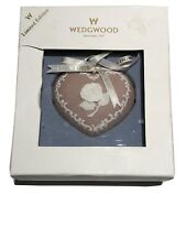 Wedgwood Christmas Ornament Pink Heart Breast Cancer 588344 Nib