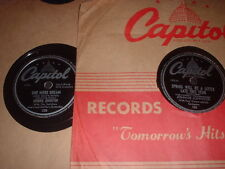78RPM 3 Capitol by Johnnie Johnston,Laura Long Liv,Spring, 1 Dream, Irresista wV
