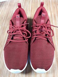 Puma Soft Foam Trainers Size Uk 11 red