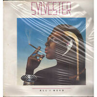 Sylvester Lp Vinile All I Need / Megatone INT 20338 Sigillato