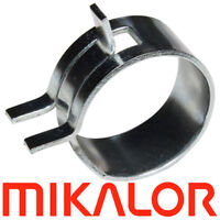Spring Hose Clips/Clamps Mikalor Fuel Air Gas Water Pipe Self Clamping | 10 Pack
