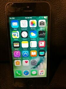 Pre-owned Apple iPhone 5, black, model ME486LL/A