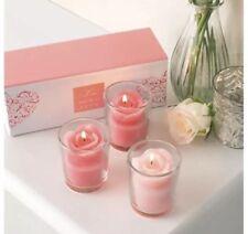 Avon Valentine Set of 3 Votive Candles