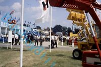 International Tractors Display at Royal Show 1970's original 35 mm Slide v3