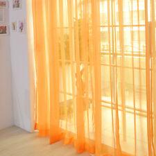 Gardinenschal Transparent Schiere Voile Türvorhang Fenster Vorhang Faden vorhang
