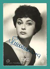 ELMA KARLOWA | Schauspielerin | Original-Autogramm auf Starpostkarte