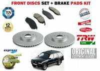 FOR VAUXHALL OPEL FRONTERA 1991-1998 FRONT BRAKE DISC SET + DISC PADS SET