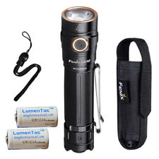 Fenix LD30 1600 Lumen Rechargeable LED Flashlight w/ 2x LumenTac CR123A Battery