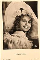 21460 Ross Película Foto Ak 3707/2 Marika Rökk Southern Belle Hut Um 1940 PC