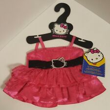 NEW Build A Bear Hello Kitty Holiday Dress