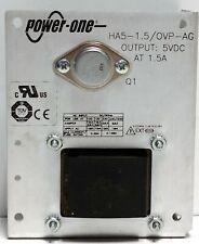 Power One Ha5 15ovp Ag Power Supply