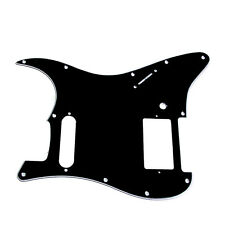3 Ply Black Guitar Pickguard For Fender Stratocaster Strat HS Single Humbucker