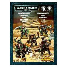 >> Orks Ork KOMMANDOS 5x Warhammer 40k NIB!